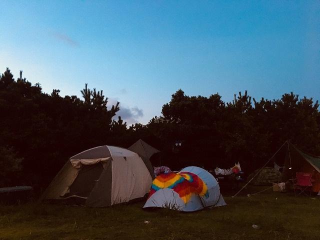 キャンプ場まったり