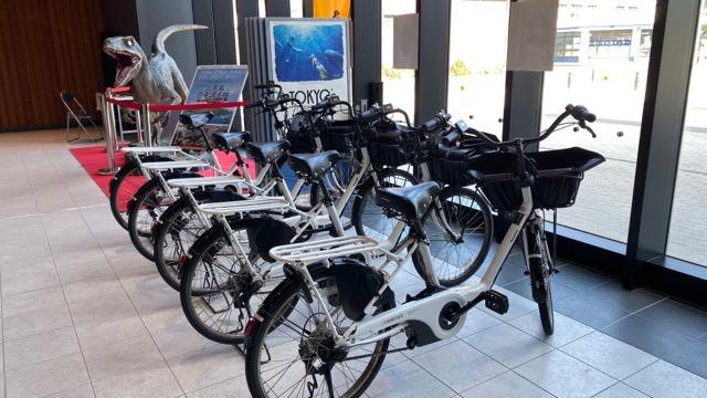錆が浜港レンタル自転車