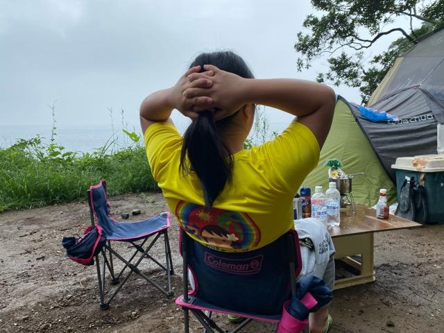 真鶴キャンプ場まったりらぶりん