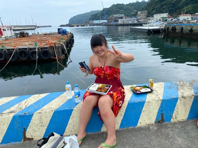 真鶴港で釣りランチ