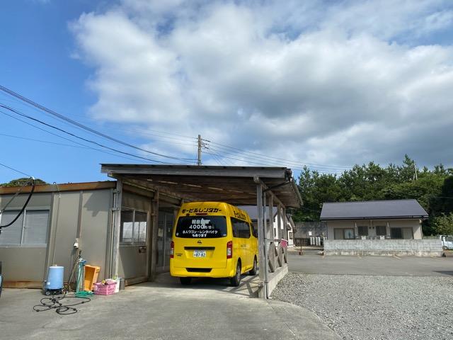 大島モービルレンタカー黄色い車