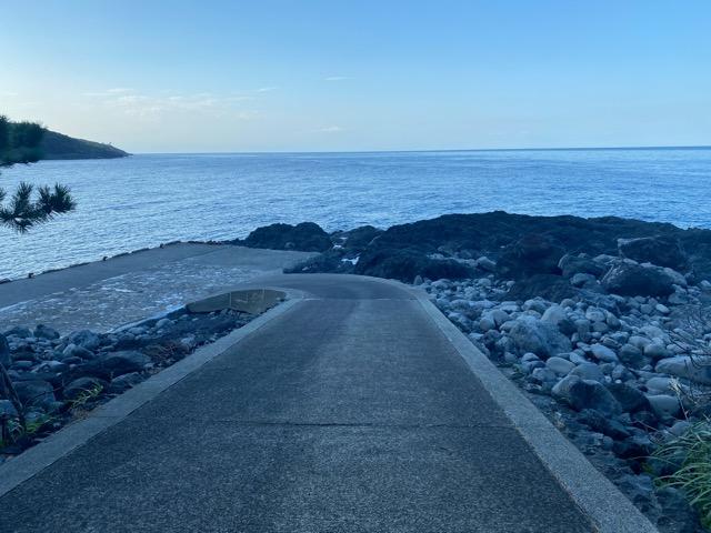 海のふるさと村近くの海