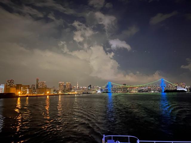 東京湾夜景