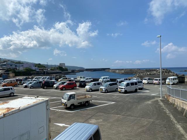 観光協会駐車場