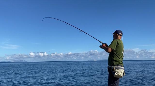 三宅島で釣り