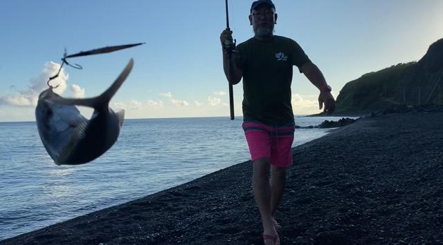 大久保浜釣り
