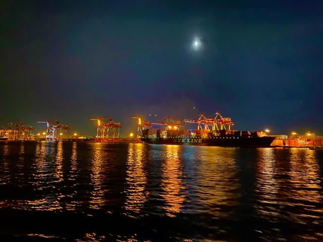 竹芝桟橋出航